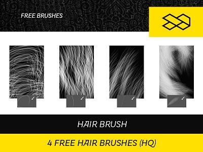 4 Free Hair Brushes free photoshop hair brush free brush photoshop brush freebie free brushes fur brush hair brush photoshop pennello photoshop pennelli capelli photoshop pennelli photoshop gratuiti gratis
