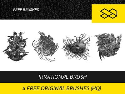 4 Free Original Brushes (HQ) generativeart hd high quality abstract brush photoshop brush photoshop freebie free brushes free creative commons