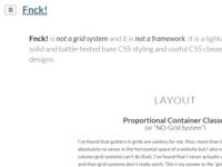 Fnck! version 0.1