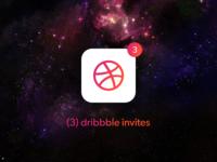 Dribbble Invites x3