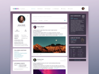 MOON Astrology Social Network | Home page concept