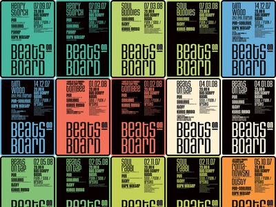 Beats on Board Posters