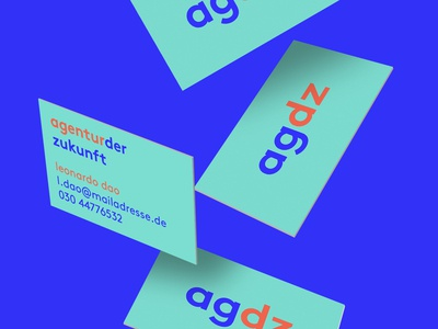 AGDZ Business Cards