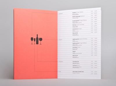 Menu Card / Branding for Kulturcafé