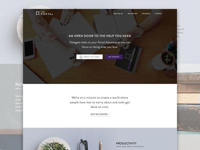 The Portal website