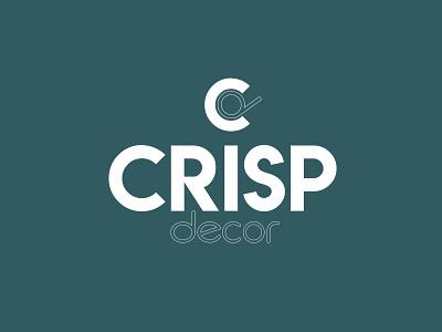 Crisp Decor thirtylogos thirtydaylogochallenge affinity logo branding affinitydesigner design