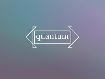 Quantum quantum flat thirtylogos thirtydaylogochallenge branding affinity logo affinitydesigner design