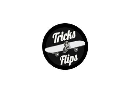 Tricks & Flips icon thirtylogos thirtydaylogochallenge typography affinity logo affinitydesigner