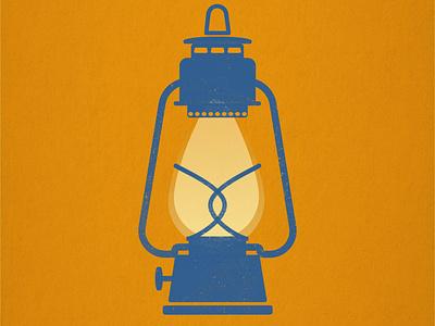 You Light Me Up lamps vintage retro illustration affinitydesigner lamp lantern