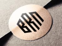 BRN Monogram logo design