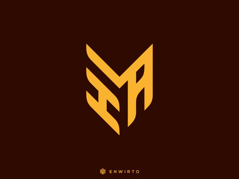 HMA Concept Logo typography app branding minimal design logo logo lettering vector design icon hma