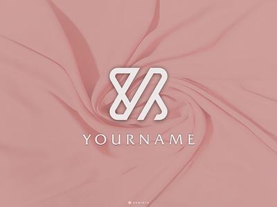 YM Concept Logo Design typography app branding minimal design logo logo lettering vector design icon ym