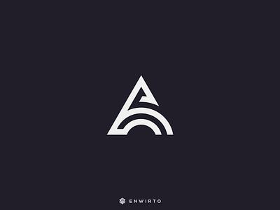 A Concept Logo Design typography app branding minimal design logo logo lettering vector design icon animation