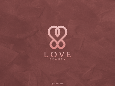 Love Concpet Logo Design typography app branding minimal design logo lettering vector design icon logo love