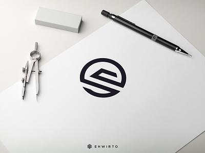 SV Concept Logo Design typography app branding minimal design logo logo lettering vector design icon sv