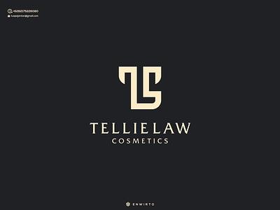 TL Concept Logo Design typography app branding minimal design logo logo lettering vector design icon tl