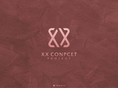 XX Concept Logo Design web typography app branding minimal design logo logo lettering vector design icon xx