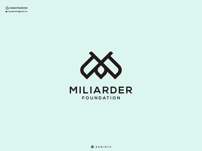 M Concept Logo Design web typography app branding design logo logo lettering vector design icon minimal m