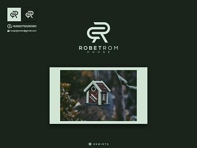 RR Concept Logo Design typography app branding minimal home design logo logo lettering vector design icon rr