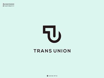 TU Concept Logo Design typography app branding minimal design logo logo lettering vector design icon texture