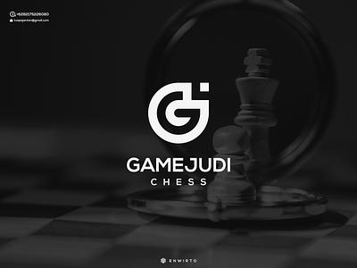 GJ Concept Logo Design logos typography branding minimal design logo lettering vector design icon logo design logo gj