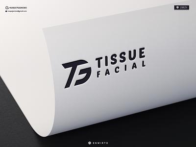 Letter TF Concept Logo typography app branding minimal logo design logo lettering vector design icon tf