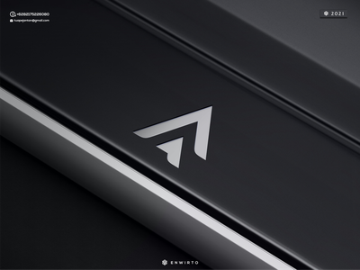 Letter A Concept Logo