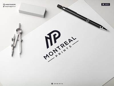 MP Concept Logo typography app branding minimal logo design logo lettering vector design icon mp