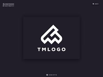TM LOGO monogram logo branding motion graphics graphic design animation minimal design logo lettering vector design icon