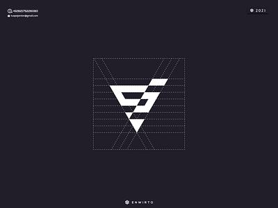 Lette SJ Concept Logo branding illustration minimal design logo lettering vector design icon monogram logos logo sj letter