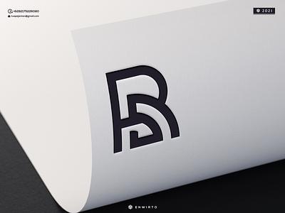 RS Monogram Logo monogram branding illustration minimal vector design logo lettering icon desiner design logos logo logo rs rs