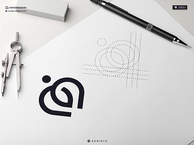 Love People Logo logo design nice good monogram letters branding designer cool letter logos logo design icon people love