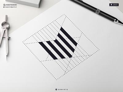 M Monogram Logo illustration minimal vector design logo lettering logo design monogram cool branding letter icon logos m logo