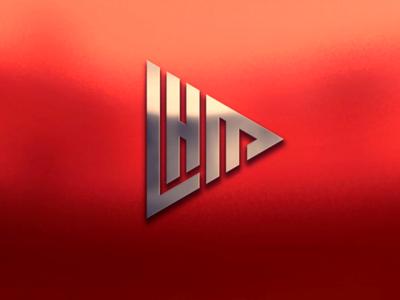 LHM Monogram logo design