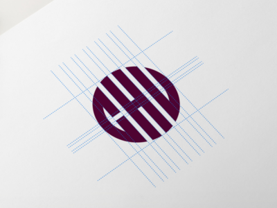 CHU Monogram logo design