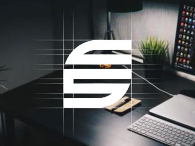 CS Monogram logo design