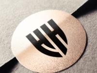 HH Monogram logo design