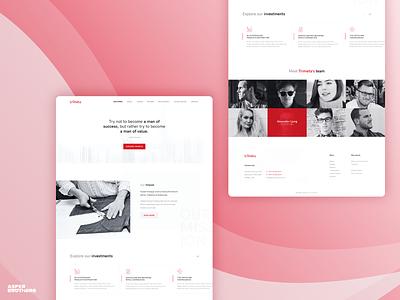 Trimeta project minimal software house software website app ux ui design