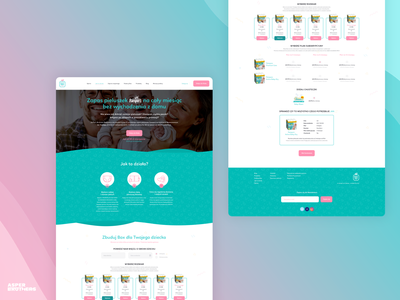 Baby Box Club subscription ecommerce ecommerce software house software web website ux ui design app
