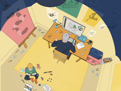 finding my style character illustrator drawing cartoon illustration