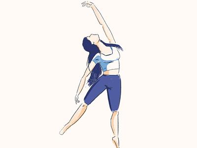 Dancer 3 practice pen dancer wacom photoshop sketch drawing illustrator illustration