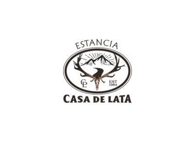 Estancia casa business branding brand logo design logo hunting deer ranch red deer