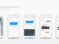 Dribbble android convo screens 01