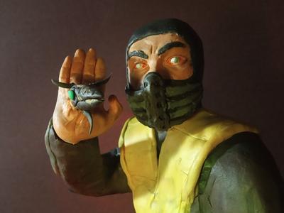 Plasticine Mortal Kombat - Scorpion's Weapon