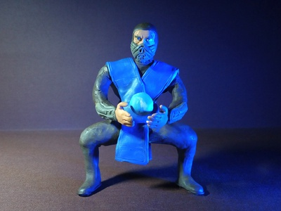Plasticine Mortal Kombat - Sub-Zero's Weapon