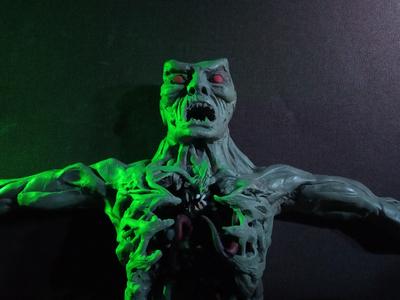 Plasticine Mortal Kombat - Reptile Transformation