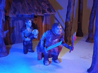 Plasticine Game of Thrones - Samwell Tarly and Gilly