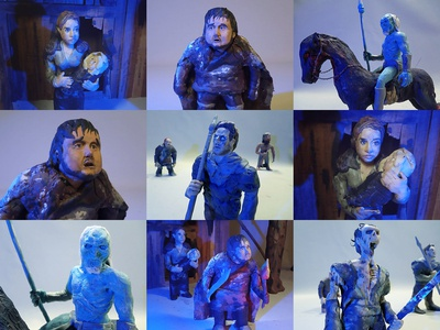 Plasticine Game of Thrones - Characters