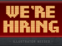 Illustrator needed!