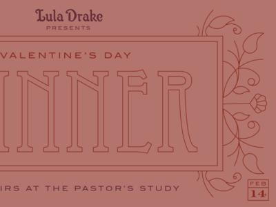 Valentines Dinner Graphic